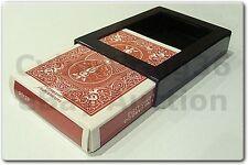 BICYCLE DECK VANISH DISAPPEARING VANISHING CARD CASE CLOSE UP MAGIC TRICK BOX