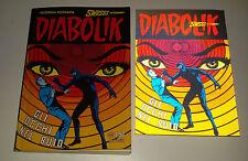 DIABOLIK SWIISSS  n.159 con cartolina 3D (Gli occhi  nel buio) Buono / ottimo