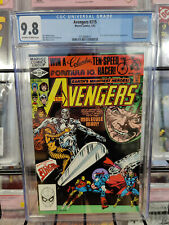 AVENGERS #215 (1963 SERIES) - CGC GRADE 9.8 - SILVER SURFER APPEARANCE!