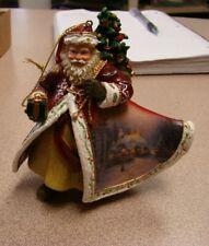 """""""Thomas Kinkade""""~ Old World Santa Ornament~""""Good Wishes At The Holidays"""""""