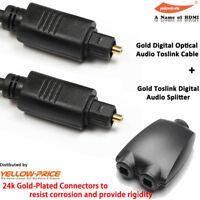 6 FT Digital Fiber Optical Optic Audio SPDIF MD DVD TosLink Cable Lead Cord US