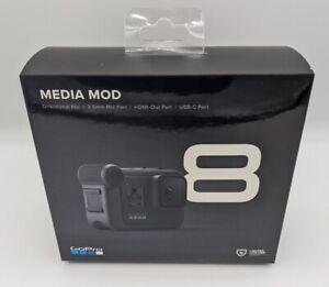 GoPro Media Mod für HERO8 Black (Action Cam Zubehör Schutzgehäuse AJFMD-001)