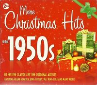 MORE CHRISTMAS HITS OF THE 1950s - 2 CD BOX SET - FESTIVAL CLASSICS