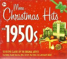 MORE CHRISTMAS HITS OF THE 1950s - 2 CD BOX SET - FESTIVAL CLASSICS
