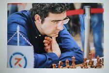 Gm vladimir kramnik signed foto autógrafo Autograph ip2 Grandmaster Chess