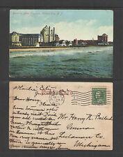 1909 BLENHEIM HOTEL TRAYMORE ATLANTIC CITY NJ PCARD