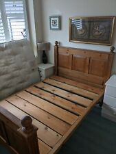 More details for beautiful antique double bed frame
