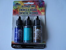"Tim Holtz Adirondack Alcohol Ink 3 pk ""MARINER"" Entièrement neuf sous emballage ** Look **"