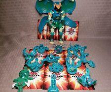 Bakugan Lot of 12 Ventus + 14 cards Nastix 1100g Hawtor Bakumorph