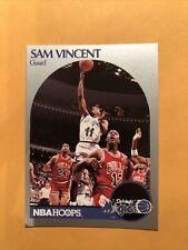 1990-91 Hoops Sam Vincent Michael Jordan #12 Jersey Chicago Bulls NM #223