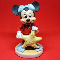 "Vintage Mickey Mouse Walt Disney Productions Starfish Scuba 4"" Figurine"
