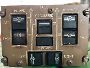Boeing 767 Fuel Management Panel