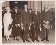 1927 Pres Calvin Coolidge at Union Station - News Photo