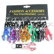 NEW Durable Climb Hook Carabiner Clip Lock Keychain Keyring E
