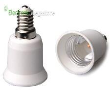 ADATTATORE CONVERTITORE LAMPADE DA E14 A E27 PL415