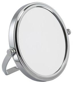 7x Magnification Mini Chrome Travel Mirror (7027CHR)
