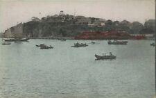 Old Postcard - Chefoo Harbor - Japan