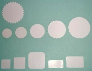 Blank White Price Point Stickers, Market, Shop, Retail, Sticky Labels, Tags