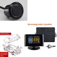 Car Parking Sensor 8 Rear Front View Reverse Backup Radar System Kit LCD Display