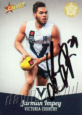 ✺Signed✺ 2013 PORT ADELAIDE POWER AFL Card JARMAN IMPEY Future Force