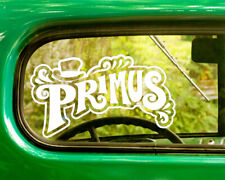 2 PRIMUS BAND DECALs Stickers Bogo For Car Truck Window Bumper Laptop