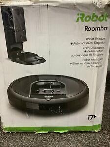 iRobot Roomba i7+ plus (7550) Robot Vacuum w/ Auto Dirt Disposal + Parts