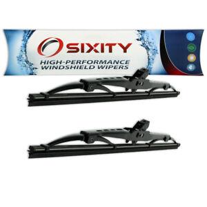 Front Windshield Wiper Blades for Volkswagen Jetta Rabbit Pickup Cabriolet nq