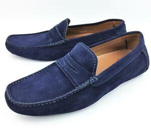 Aquatalia Brandon Weatherproof Suede Driving Loafers sz: US 10.5 - Runs Small
