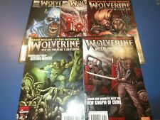 Wolverine #68,69,70,71.72 lot of 5 VG to Fine Old Man Logan