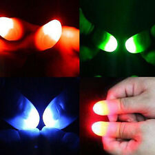 2Pcs Super Bright  Finger Lights Close Up Thumbs Fingers Trick Magic Light