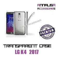 COVER TRASPARENTE PER LG K4 2017 CUSTODIA SILICONE TPU TRANSPARENT CASE 0,3mm