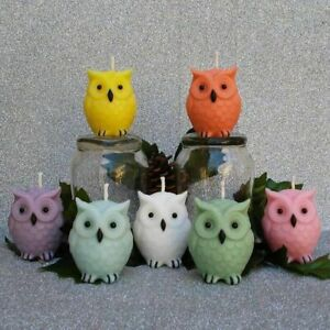Owl Silicone Mold DIY Candle Making Scented Candles Aromatherapy Natural Soy Wax