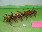 vintage britains lead soldiers recast mounted indians toy models 1828