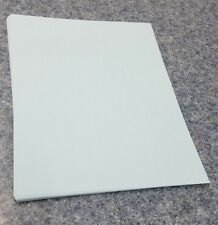 "25 Sheets of 8.5 X 11"" 110lb. Blue Smooth Finish Craft or Copy Card Stock"