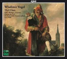 Wladimir Vogel: Thyl Claes, New Music