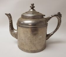 Vintage Sovereign G I Mix & Co Silver Colored Teapot Stamped