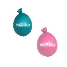 IsoFlex Teal (Aqua) and Pink Set of 2 Stress Ball Hand Massager