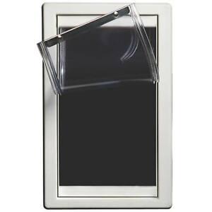 "Ideal Pet Products Screen Guard Pet Door Medium White 1.25"" x 9.5"" x 15.12"""