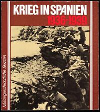 Krieg in Spanien 1936-1939, Militärgeschichtliche Skizzen, 1986