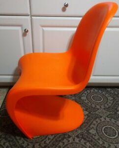 Mid Century Modern Design Orange S Chair