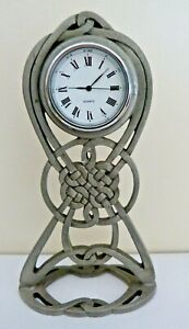 CELTIC DESIGN STANDING CLOCK