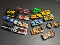Lot Of 15 Vintage Toy Cars 8 Metal Bottoms Hot Wheels Matchbox Ertl