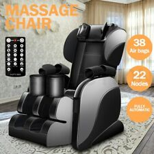 HOMASA Zero Gravity Electric Massage Chair Recliner Shiatsu Heating 22 Nodes