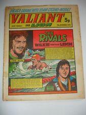 VALIANT And LION comic 23rd November 1974.
