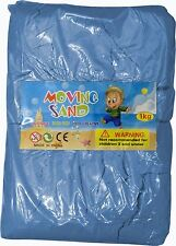Magic Motion Moving Sand 1kg Play Pen Dry Children Toy Stays Dry BLUE