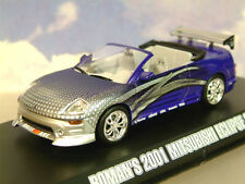 Greenlight 1/43 Roman's 2001 MITSUBISHI Eclipse Spyder 2 Fast 2 Furious 86210