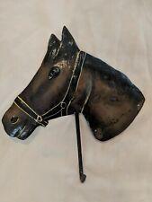 Metal Decorative Horse Head Wall Mounted Coat Hook