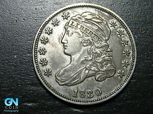 1830 Capped Bust Dime  --  MAKE US AN OFFER!  #B7125