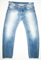 *HOT AUTHENTIC Men's DIESEL @ BRAVEFORT 8B9 - Comfort CARROT Denim Jeans 36 x 34