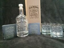 More details for peaky blinders whisky decanter gift box set for 2 can be personalised
